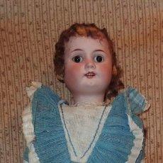 Muñeca española clasica: MUÑECA BEBÉ JUAN,FRANCISCO MERIN,PORCELANA,PRINCIPIO DEL S.XX. Lote 148649642