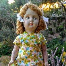 Muñeca española clasica: PRECIOSA ANTIGUA MUÑECA ESPAÑOLA FLORIDO ANTIQUE UNIQUE. Lote 148670550