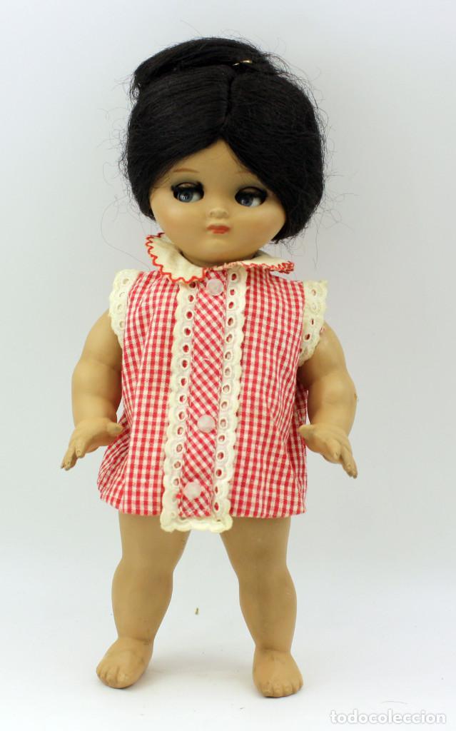 Muñeca española clasica: LINDA PIRULA MORENA - AÑOS 50 - 26cm alto - BUEN ESTADO - MUÑECAS DE ALBA - TODA DE ORIGEN - Foto 18 - 246929440