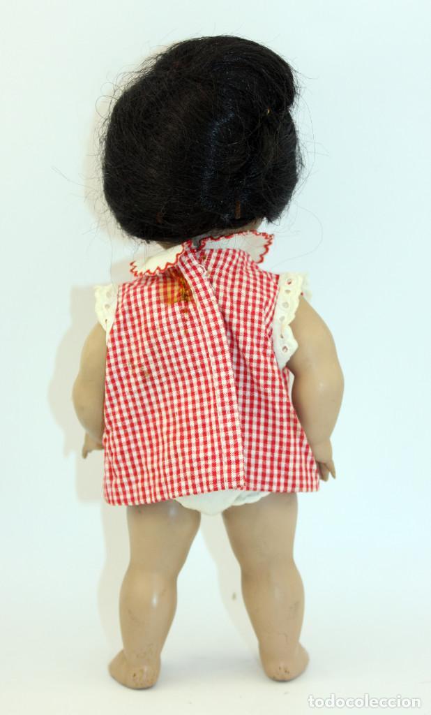 Muñeca española clasica: LINDA PIRULA MORENA - AÑOS 50 - 26cm alto - BUEN ESTADO - MUÑECAS DE ALBA - TODA DE ORIGEN - Foto 19 - 246929440
