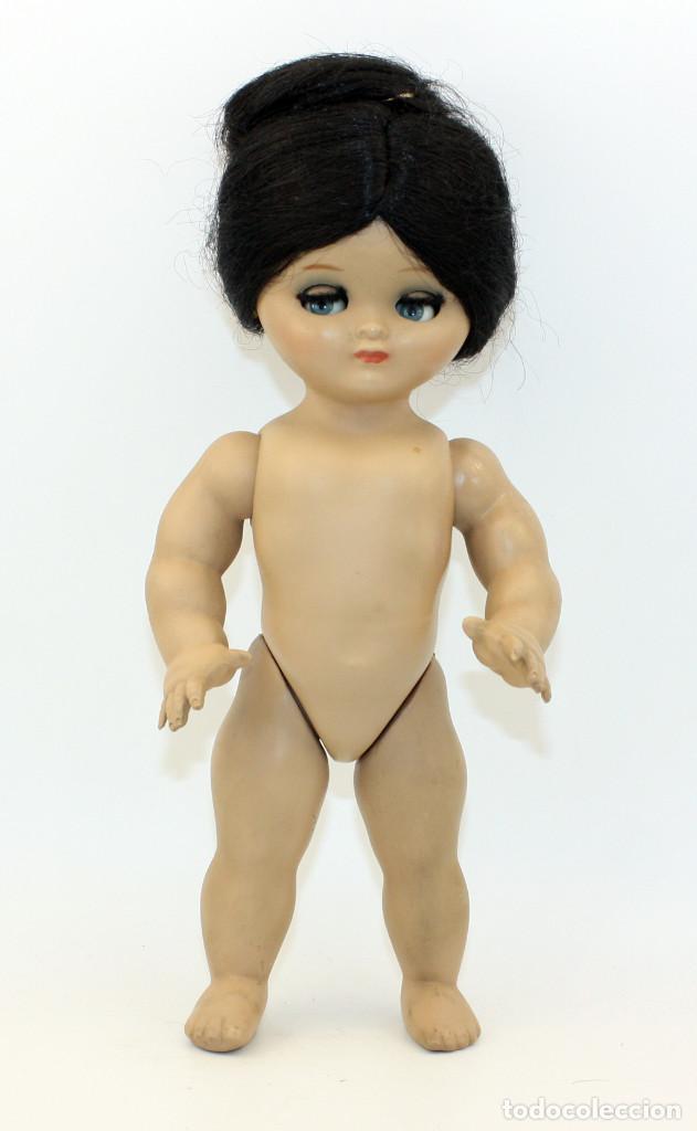 Muñeca española clasica: LINDA PIRULA MORENA - AÑOS 50 - 26cm alto - BUEN ESTADO - MUÑECAS DE ALBA - TODA DE ORIGEN - Foto 20 - 246929440