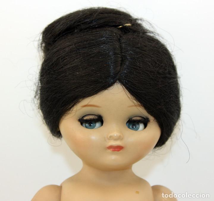 Muñeca española clasica: LINDA PIRULA MORENA - AÑOS 50 - 26cm alto - BUEN ESTADO - MUÑECAS DE ALBA - TODA DE ORIGEN - Foto 3 - 246929440