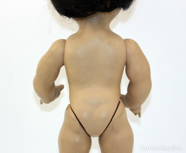 Muñeca española clasica: LINDA PIRULA MORENA - AÑOS 50 - 26cm alto - BUEN ESTADO - MUÑECAS DE ALBA - TODA DE ORIGEN - Foto 6 - 246929440