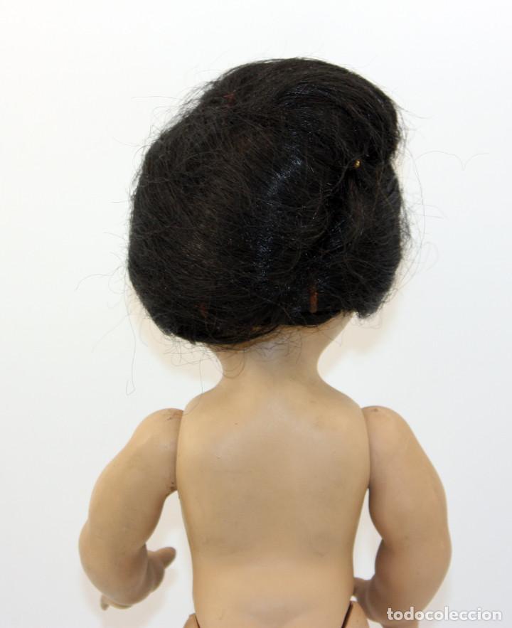 Muñeca española clasica: LINDA PIRULA MORENA - AÑOS 50 - 26cm alto - BUEN ESTADO - MUÑECAS DE ALBA - TODA DE ORIGEN - Foto 7 - 246929440