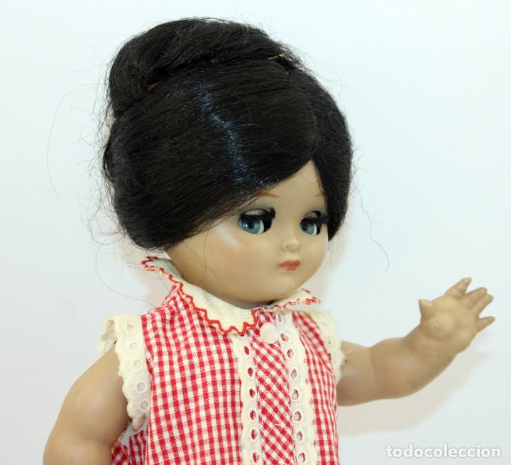Muñeca española clasica: LINDA PIRULA MORENA - AÑOS 50 - 26cm alto - BUEN ESTADO - MUÑECAS DE ALBA - TODA DE ORIGEN - Foto 10 - 246929440
