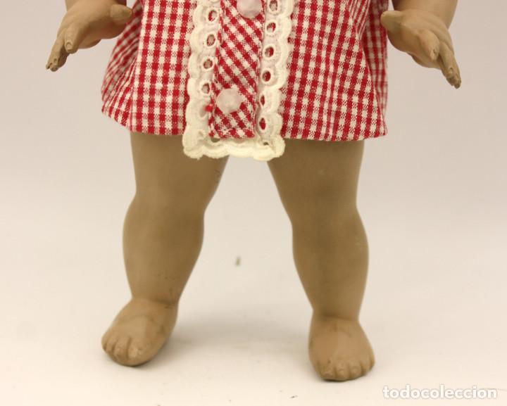 Muñeca española clasica: LINDA PIRULA MORENA - AÑOS 50 - 26cm alto - BUEN ESTADO - MUÑECAS DE ALBA - TODA DE ORIGEN - Foto 12 - 246929440