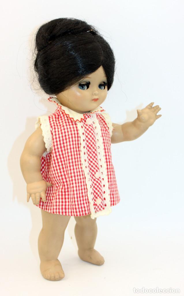 Muñeca española clasica: LINDA PIRULA MORENA - AÑOS 50 - 26cm alto - BUEN ESTADO - MUÑECAS DE ALBA - TODA DE ORIGEN - Foto 13 - 246929440