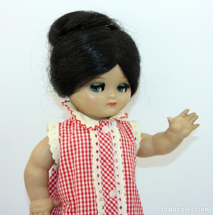 Muñeca española clasica: LINDA PIRULA MORENA - AÑOS 50 - 26cm alto - BUEN ESTADO - MUÑECAS DE ALBA - TODA DE ORIGEN - Foto 14 - 246929440