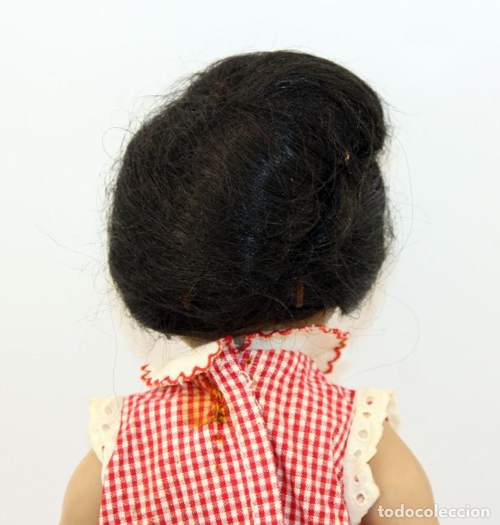 Muñeca española clasica: LINDA PIRULA MORENA - AÑOS 50 - 26cm alto - BUEN ESTADO - MUÑECAS DE ALBA - TODA DE ORIGEN - Foto 15 - 246929440