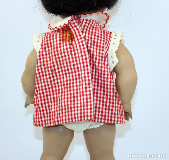 Muñeca española clasica: LINDA PIRULA MORENA - AÑOS 50 - 26cm alto - BUEN ESTADO - MUÑECAS DE ALBA - TODA DE ORIGEN - Foto 16 - 246929440