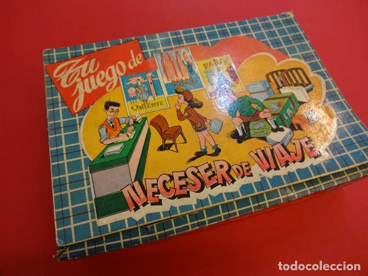 Muñeca española clasica: NECESER de VIAJE para tu muñeca. Juguete GRAIN. Barcelona. Original años 1960s. 21 x 15 ctms. - Foto 3 - 149202598