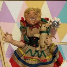 Muñeca española clasica: ANTIGUA MUÑECA DE FIELTRO POSIBLE ANITA DIMINUTA. Lote 149324805
