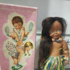 Boneca espanhola clássica: ANTIGUA MUÑECA HAWAIANA DE LANCO. Lote 149522313