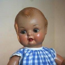 Muñeca española clasica: PIRRI BEBE MOLINA CON ROPA ORIGINAL 1957. Lote 149720566