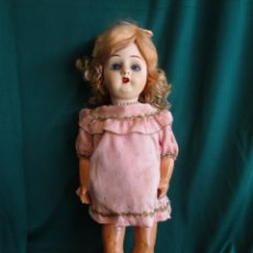 Muñeca española clasica: ANTIGUA MUÑECA ESPAÑOLA CELULOIDE FSF N.7 AÑOS 30. Lote 149957522