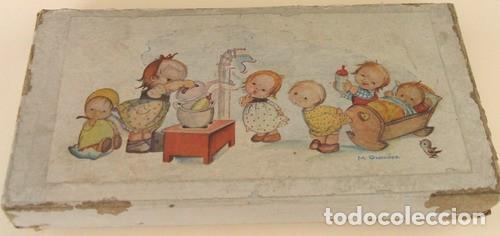Muñeca española clasica: CAJA DE CARTON DE LOS AÑOS 60, M. Granados - Foto 2 - 150078882