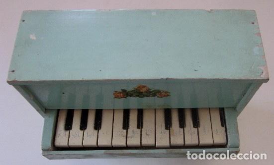 Muñeca española clasica: PIANO DE MADERA PARA MUÑECA - Foto 2 - 150337506
