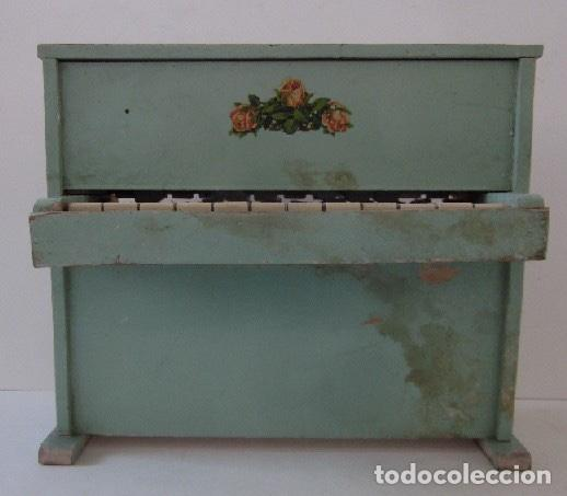 Muñeca española clasica: PIANO DE MADERA PARA MUÑECA - Foto 4 - 150337506
