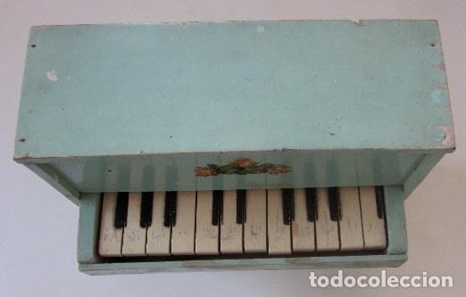 Muñeca española clasica: PIANO DE MADERA PARA MUÑECA - Foto 5 - 150337506