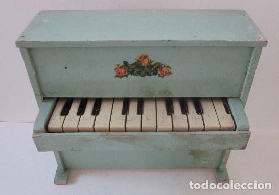 Muñeca española clasica: PIANO DE MADERA PARA MUÑECA - Foto 6 - 150337506