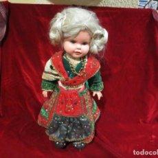 Muñeca española clasica: MUÑECA VESTIDA DE CHARRA , TRAJE HECHO A MANO. Lote 150562394