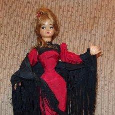Muñeca española clasica: MUÑECA DE GUILLEM Y VICEDO,SIMIL PAULOVA,GRETA,CHULAPA,FABRICADA A FINALES DE LOS AÑOS 50. Lote 150614638