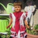 Muñeca española clasica: ANTIGUA MUÑECA ANDADORA DIANA DE CARTÓN PIEDRA 70CM. Lote 150635674