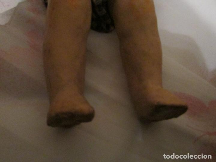 Muñeca española clasica: ANTIGUO MUÑECO CARTON PIEDRA JUANIN? ,ARTURITO? - Foto 5 - 151169390
