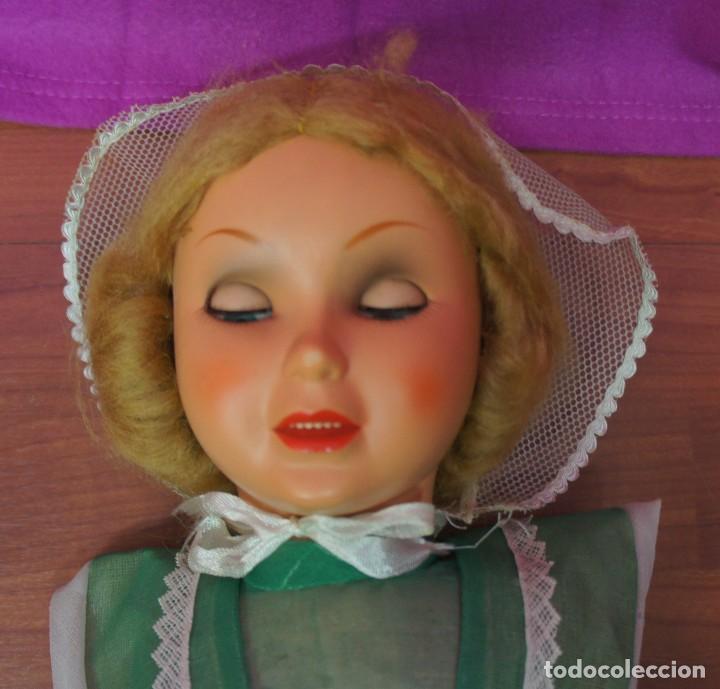 Muñeca española clasica: MUÑECA DIANA DE FAMOSA ,VESTIDA DE ORIGEN CON CAJA ORIGINAL . VER DESCRIPCIÓN. - Foto 7 - 151403734