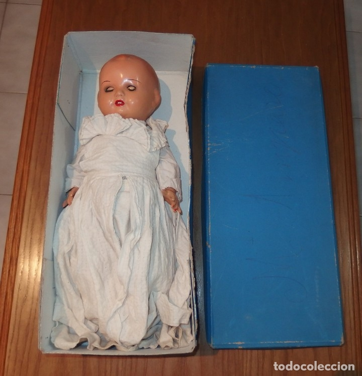 Muñeca española clasica: MUÑECO MANOLÍN,DE MUÑECAS MARTÍ,CARTÓN,CAJA ORIGINAL,AÑOS 40 - Foto 8 - 151581214