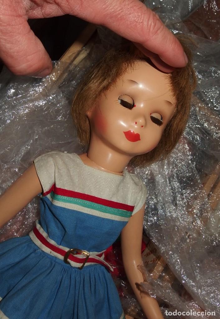 Muñeca española clasica: SONIA DE GALERÍAS PRECIADOS,CARTÓN,AL DUCO,AÑOS 50 - Foto 10 - 151622206