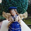 Muñeca española clasica: MUÑECA 26 CM TIPO LENCI. Lote 151697678