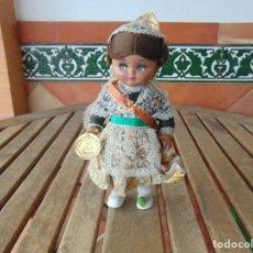 Muñeca española clasica: MUÑECA S DE ALBA LINDA PIRULA VESTIDA DE REGIONAL BUEN ESTADO CON ETIQUETA ORIGINAL. Lote 151947022