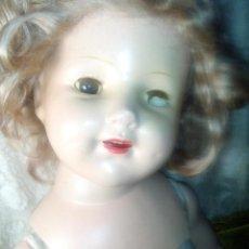 Muñeca española clasica: MARAVILLOSA SHIRLEY TEMPLE AÑOS 30 GRAN TAMAÑO 66CM. Lote 152617558