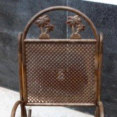 Muñeca española clasica: BUTACA DE PLÁSTICO PARA MUÑECA. TAMAÑO 18X34 CM. Lote 153852138