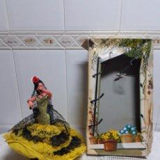 Muñeca española clasica: MUÑECA SEVILLANAS ANTIGUA. Lote 155678774