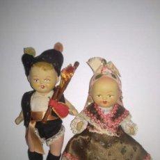 Muñeca española clasica: MUÑECAS TERRACOTA AÑOS 40. Lote 155778474