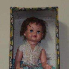 Muñeca española clasica: GUENDALINA DE FAMOSA,CAJA ORIGINAL,AÑOS 50. Lote 157084286