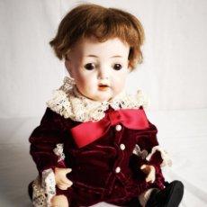 Muñeca española clasica: IMPRESIONANTE E IMPECABLE BEBÉ DE BADALONA. PRINCIPIOS S XX.. Lote 157131478