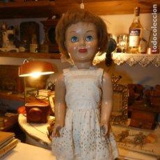 Muñeca española clasica: MUÑECA CHELITO AÑOS 50,OJOS DURMIENTES, TRAJE ORIGINAL. FOTOS PARA VER SU ESTADO. Lote 157220130