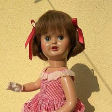 Muñeca española clasica: ANTIGUA MUÑECA DE FLORIDO CARTON PIEDRA. Lote 157837786