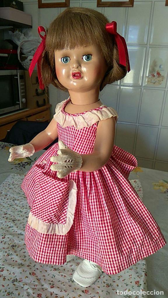 Muñeca española clasica: ANTIGUA MUÑECA DE FLORIDO CARTON PIEDRA - Foto 9 - 157837786