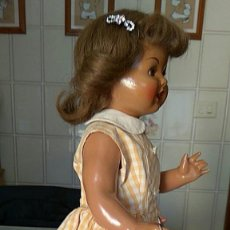 Muñeca española clasica: MUÑECA DE SERAFÍN VICENT CALVO,AÑOS 40. Lote 157841914