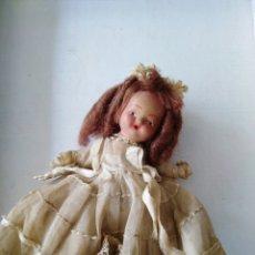 Muñeca española clasica: MUÑECA AÑOS 20 PELO MOHAIR MONISIMA RESTAURADA. Lote 160449776