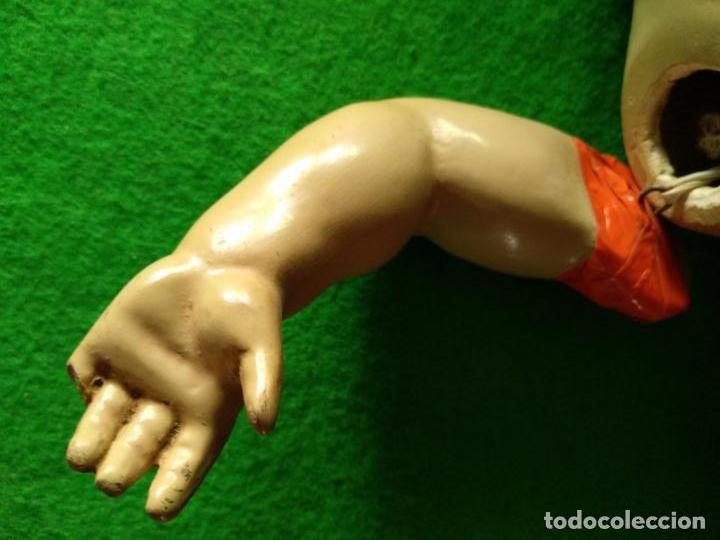 Muñeca española clasica: MUÑECO ARTURITO CARTON PIEDRA AÑOS 40 - Foto 17 - 160461218
