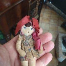 Muñeca española clasica: ANTIGUA MUÑECA DE TRAPO. Lote 160543450