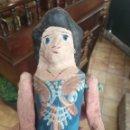 Muñeca española clasica: ANTIGUA MUÑECA DE CARTÓN. Lote 160543670