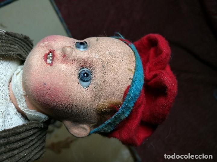 Muñeca española clasica: Pareja de catalanes..muñeco y muñeca de trapo. Pages, Lenci, Lency c. 1920-40 cataluña -ojos cristal - Foto 37 - 160702362