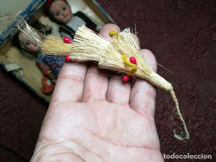 Muñeca española clasica: Pareja de catalanes..muñeco y muñeca de trapo. Pages, Lenci, Lency c. 1920-40 cataluña -ojos cristal - Foto 61 - 160702362