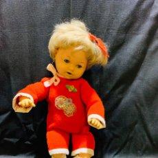Muñeca española clasica: ANTIGUA MUÑECA OJOS MARGARITA DURMIENTES AZULES. Lote 160863934